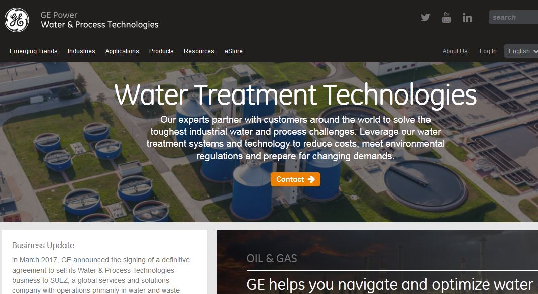Best water treatment companies in India 2019