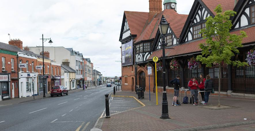 Richest towns in UK