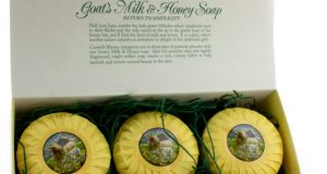 Caswell- Massey Goat's Milk and Honey Soap Top 10 Most Famous Soap Brands in The World 2018