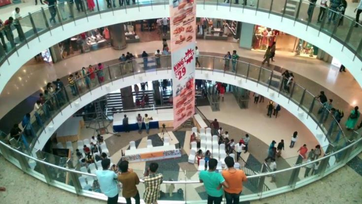 Biggest shopping mall in India