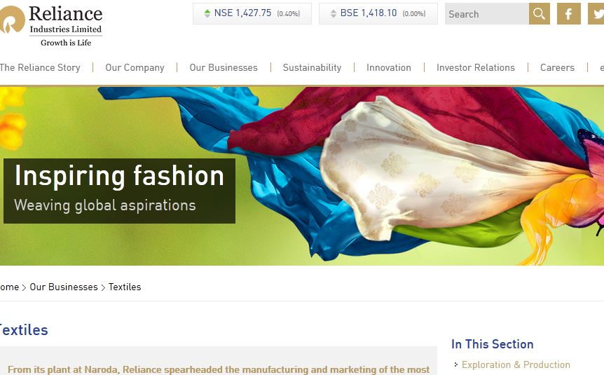 Best textile companies in India