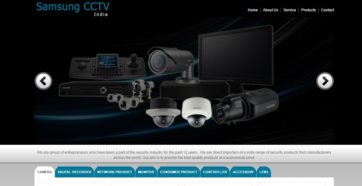 Samsung Top Most Famous CCTV Camera Companies in India 2018