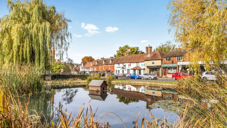 Richest towns in UK 2019