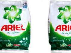 Ariel Top Most Popular Detergent Brands in India 2018