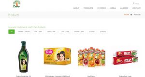 Dabur India Ltd Top Most Famous Ayurvedic Companies in India 2018