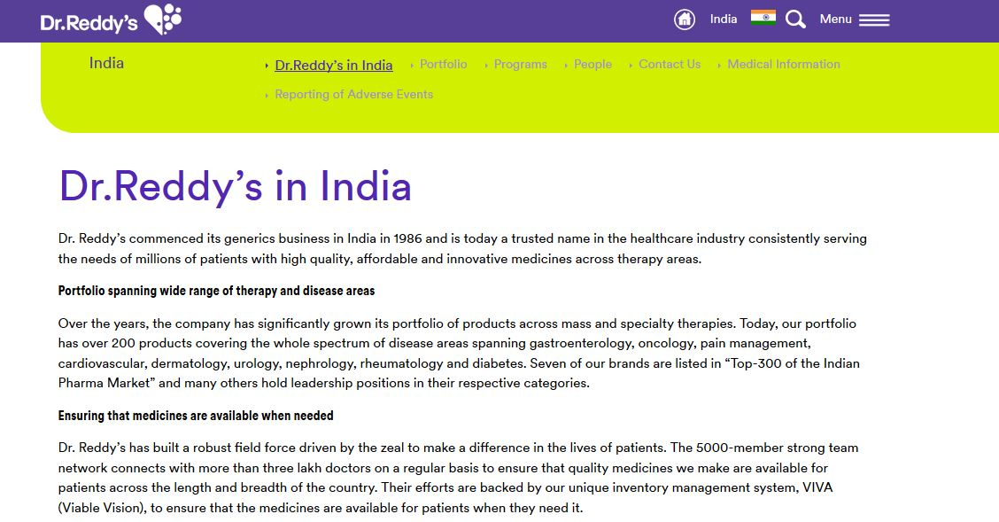 Best Pharma companies in India
