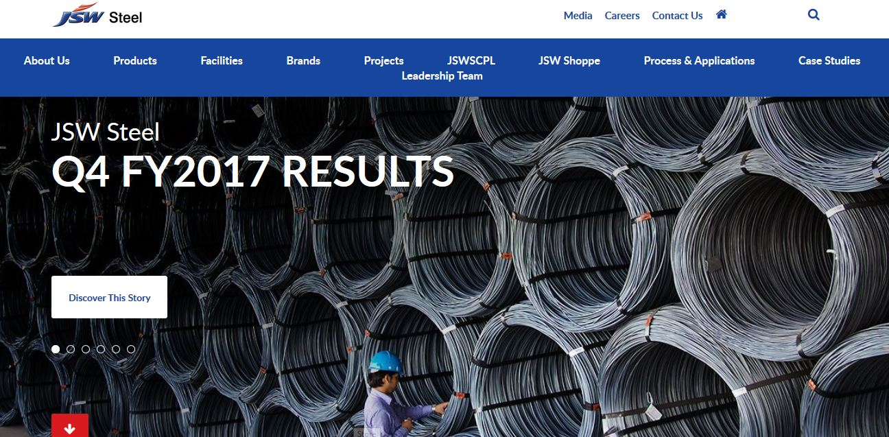 Best steel companies in India