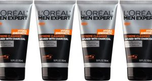 L'Oreal Paris Men's Expert Hydra Energetic Charcoal Cream Cleanser, 5 Fluids Top 10 Best Face Wash Brands For Men in World 2017
