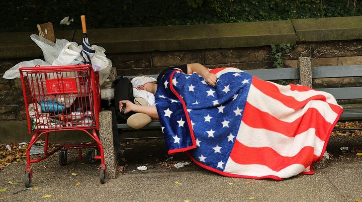 Highest Homeless Population In The World