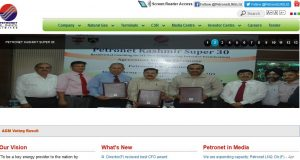 Petronet LNG Limited Top Most Famous Joint Venture Companies in India 2018
