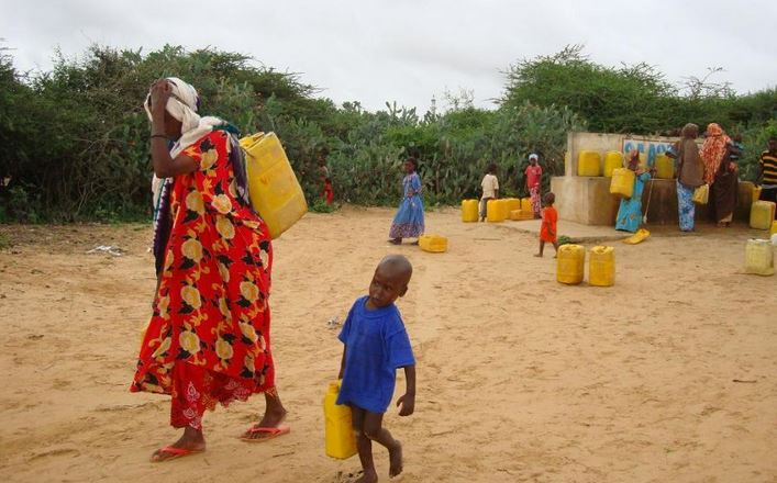 Top water shortage countries