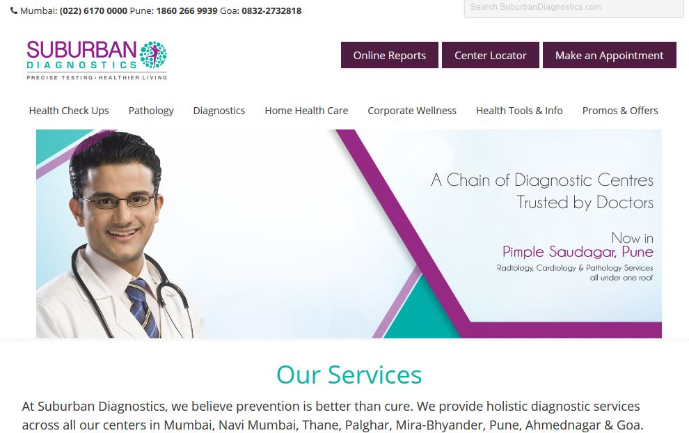 Best Diagnostic companies in India 2019