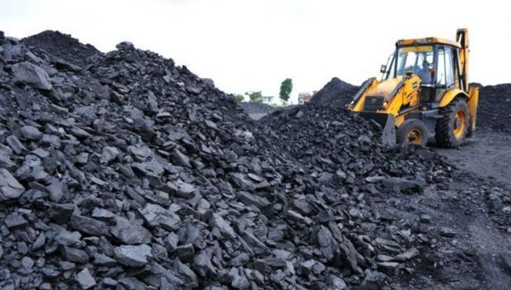 Highest coal producing states in India