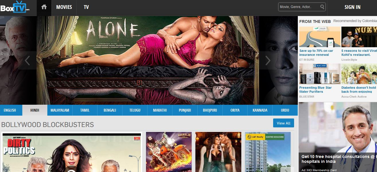 Best Websites For Watching Hindi Movies Online