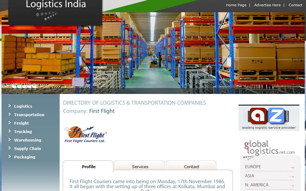 Best logistic companies in India 2019