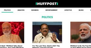 HuffingtonPost Top 10 Best Political Websites 2017