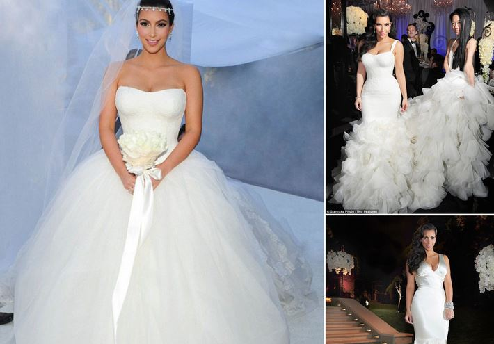 Top 10 best most expensive wedding dresses in the world 2018 kim kardashians givenchy dress 400000 most expensive wedding dresses junglespirit Gallery