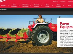 Mahindra- Mahindra & Mahindra Top Most Popular Tractor Companies in India 2018
