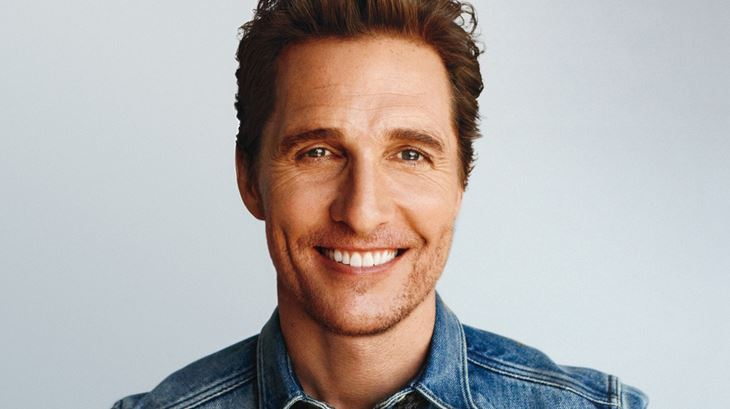 Matthew McConaughey Most Handsome Hollywood Actors 2018