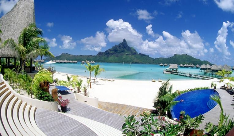Bora Bora Islands, French Polynesia, Pacific Ocean
