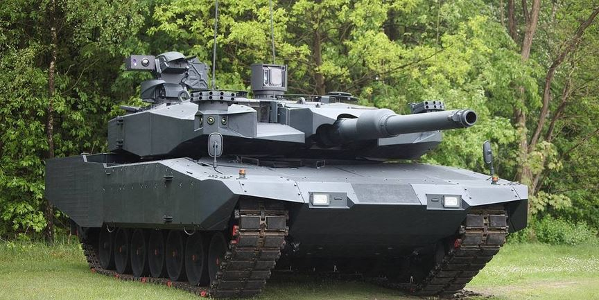Advanced military tanks